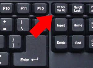PrtScn - Print Screen key in keyboard