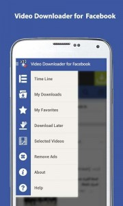 facebook video downloader screenshot